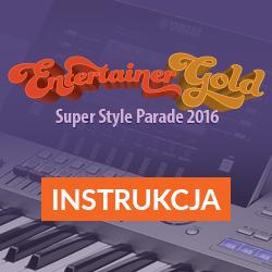 Tyros 5 - Entertainer Gold, instrukcja instalacji